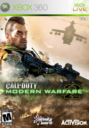 Call of Duty Modern Warfare 2 (2009/XBOX360/RUS)