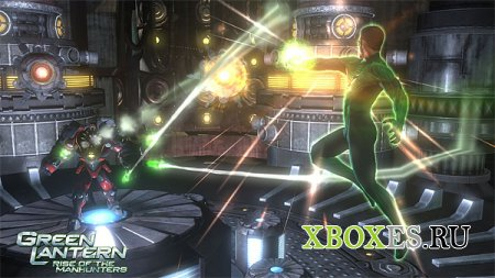 Green Lantern: Rise of the Manhunters появится в России