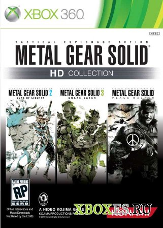 Metal Gear Solid HD Collection появится в ноябре