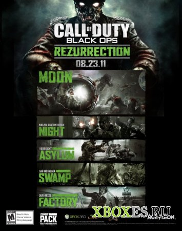 Состоялся анонс Call of Duty: Black Ops – Rezurrection