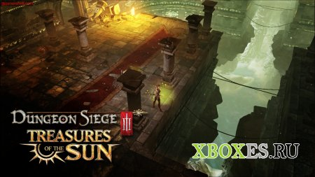 Treasures of the Sun - первое DLC для Dungeon Siege III