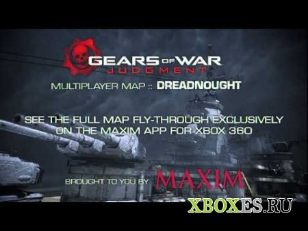Журнал Maxim станет спонсором DLC к Gears of War: Judgment