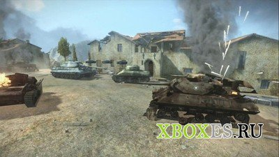 Легендарная World of Tanks пришла на Xbox 360