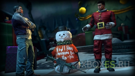 Встречайте, Saints Row IV: How the Saints Save Chirstmas