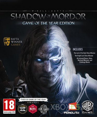 Игра года — Middle-earth: Shadow of Mordor