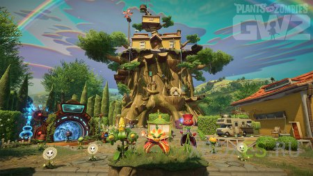 Стартует бета-тест Plants vs Zombies: Garden Warfare 2